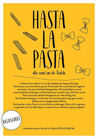 Kochschule Hasta la Pasta, alles rund um die Nudeln