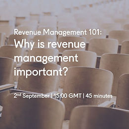 why is revenue management important even