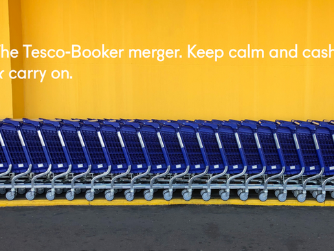 The Tesco-Booker merger: Keep calm and cash and carry on