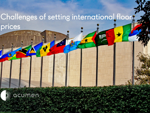 Challenges of setting international floor prices