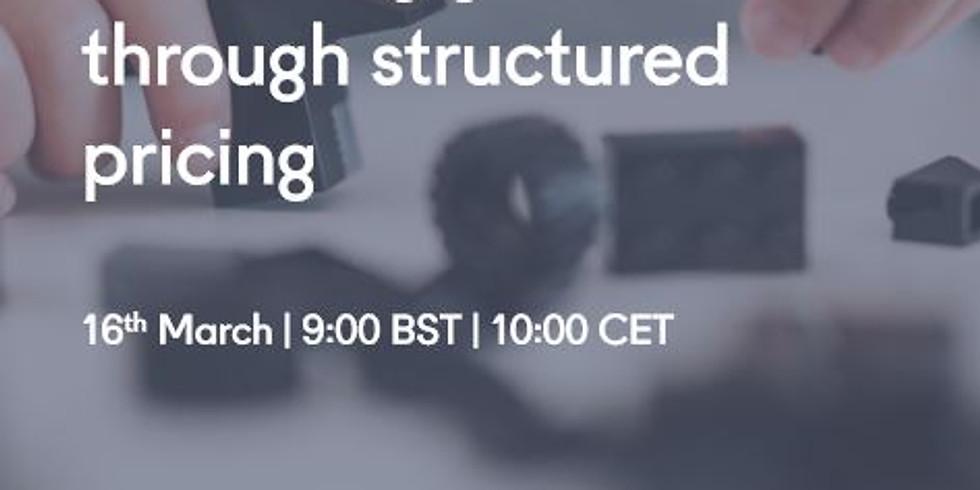 Webinar: Unlocking growth through structured pricing