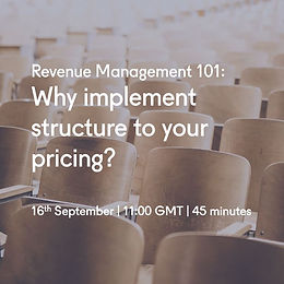 why implement structure to your pricing.
