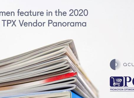 Acumen feature in the 2020 POI TPX Vendor Panorama