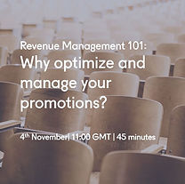why optimise and manage your promotions.