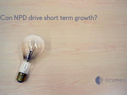 Can NPD drive short-term growth?