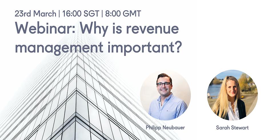 Webinar: Why is revenue management important?