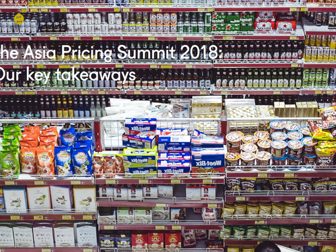 The Asia Pricing Summit 2018: Our key takeaways