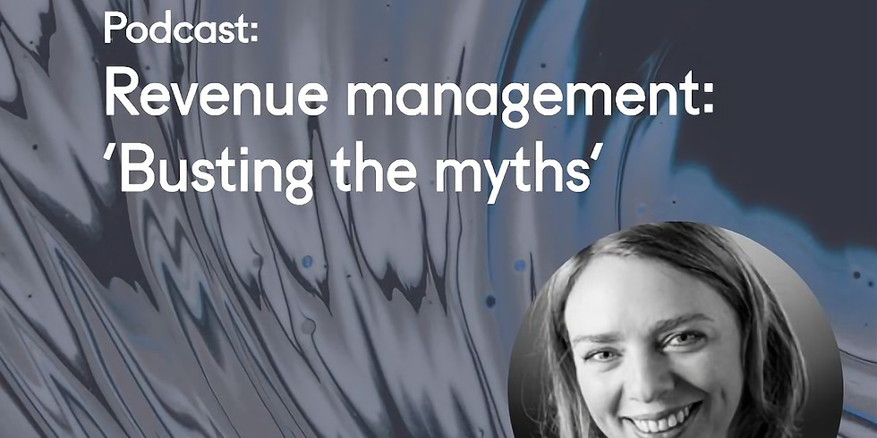 Podcast: Revenue Management, 'Busting the Myths' with Marleen Verdeyen