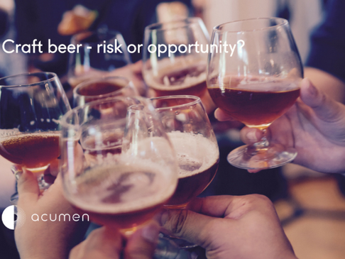 Craft beer - revenue risk or opportunity?