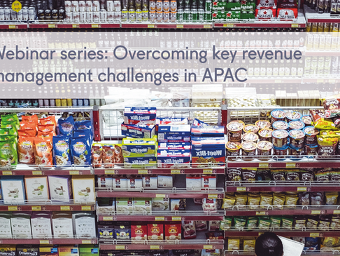 Webinar series: 'Overcoming key revenue management challenges in APAC'