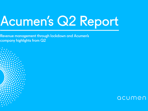 Acumen's Quarterly report