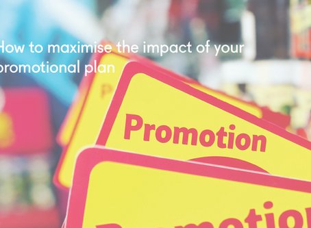 How to maximise the impact of your promotional plan