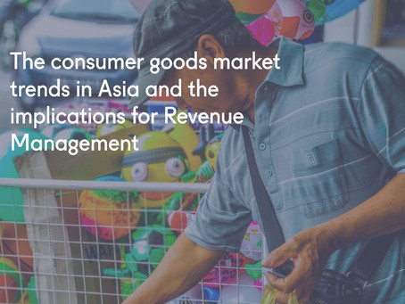 The consumer goods market trends in Asia and the implications for Revenue Management