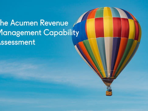 The Acumen Revenue Management Capability Assessment