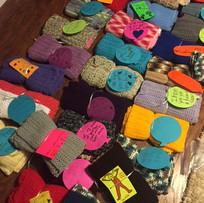 Knitting for love scarves.JPG
