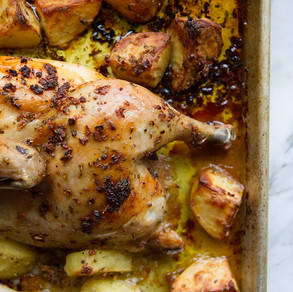 The BEST Greek Chicken You'll EVER Make!