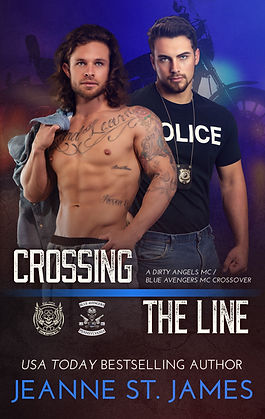 Crossing the Line: Dirty Angels & Blue Avengers MC Crossover
