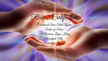 Reiki 2 Certification Sisters of Solace