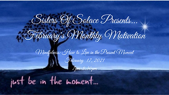 Sisters Of Solace Presents... February's