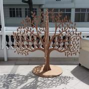 Árvore de natal diferenciada executada para Creare Cenografia