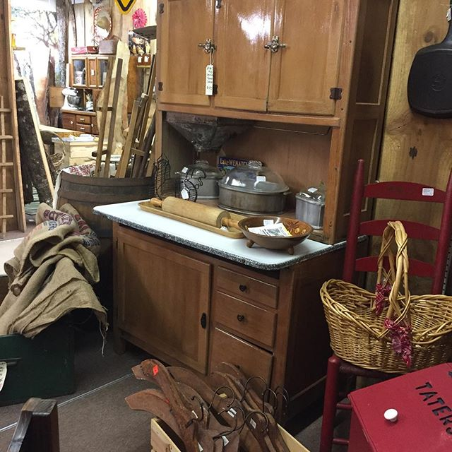 Antique Kitchen Cabinet, Hoosier