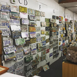 Antique License Plates, Car Tags