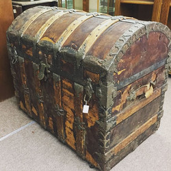 Antique Trunk, Antiques, Trunk