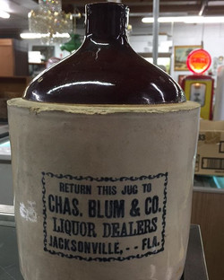 Jacksonville, Antique Jug, Moonshine
