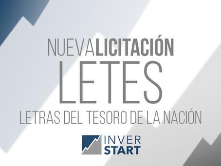Llamado a licitación de Letras del Tesoro en Pesos y Dólares Estadounidenses y Bonos del Tesoro Nac.