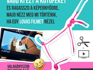 Így tedd viccessé a lovas filmeket! - játékötlet