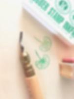 atelier gravure de tampon