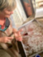 atelier papier marbré