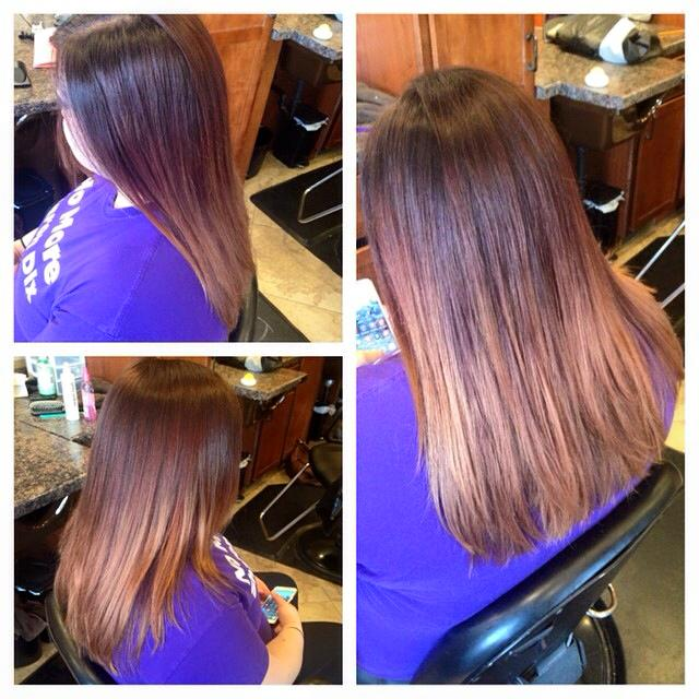 Gentle Ombre Color & Cut