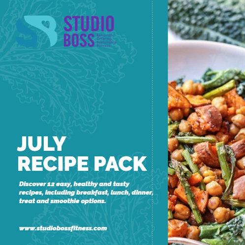 July 2019 Recipe Pack