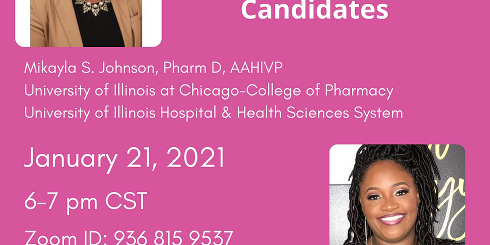 COVID-19 Speaker Series: 411 on Vaccines with Dr. Johnson and Dr. Payton-Campbell