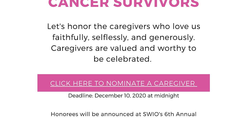 Gift Basket Giveaway for Caregivers of Cancer Survivors