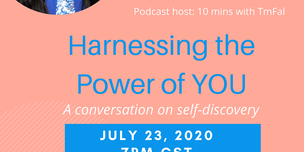 Harnessing the POWER in YOU