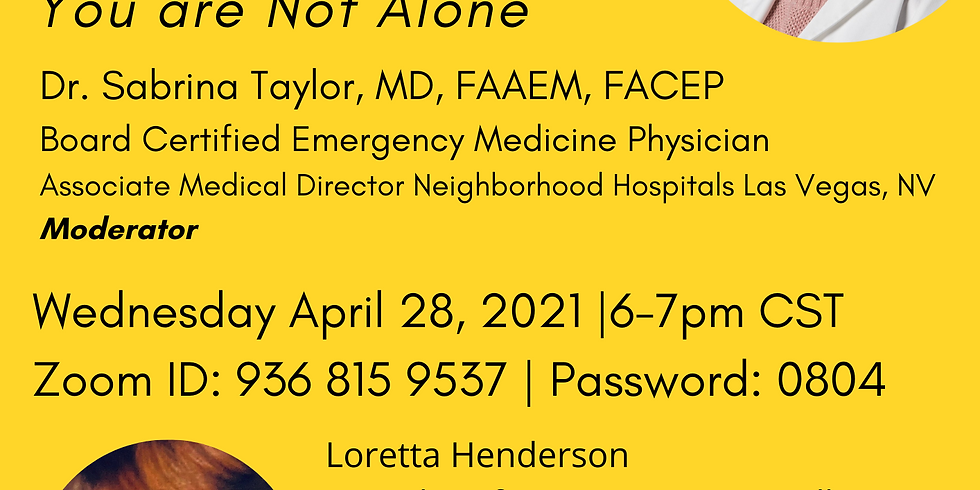 Panel Discussion on Dealing with symptoms after COVID-19: You are Not Alone