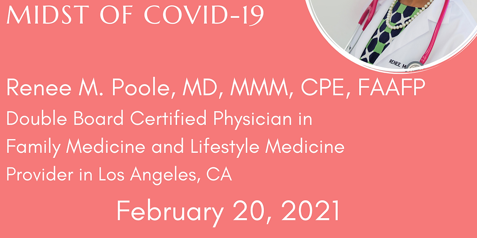COVID-19 Speaker Series: Caring for Communities in the Midst of COVID-19 with Dr. Poole