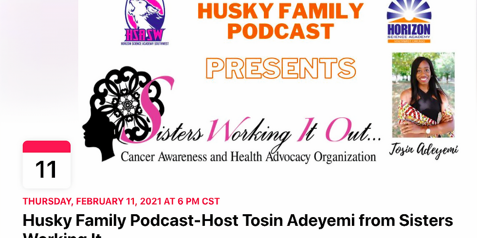 SWIO Feature on Husky Family Podcast