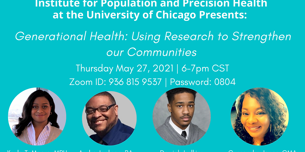 Generational Health: Using research to strengthen our communities
