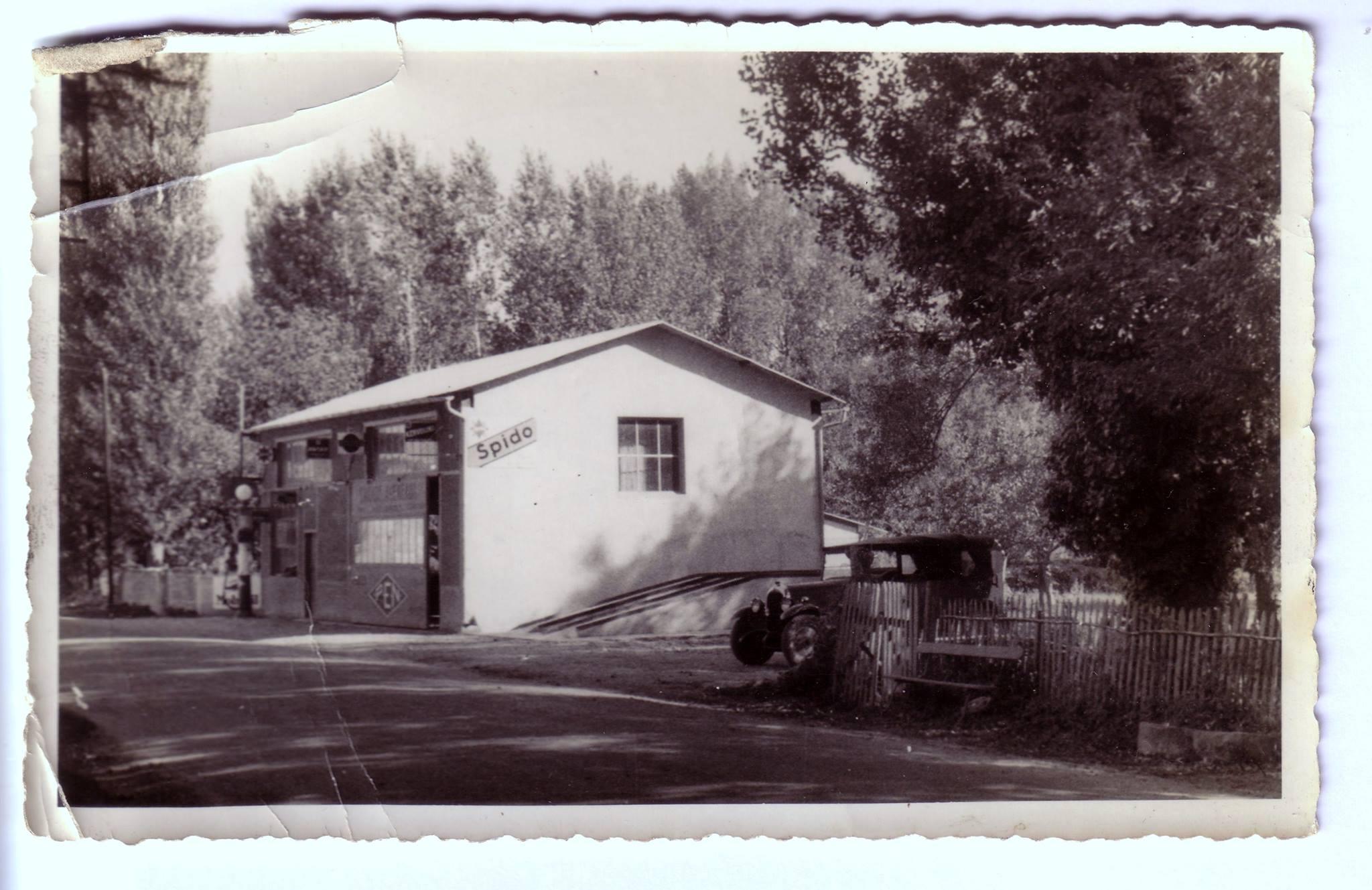 Mon atelier à sa construction 1933