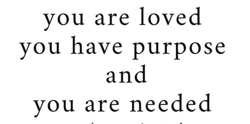 A Reminder...