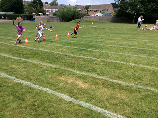 Sports Day in Year 1 and Year 2