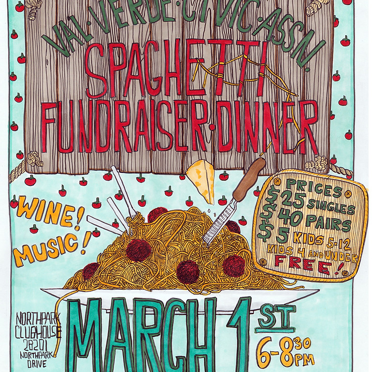 VVCA Fundraiser Spaghetti Dinner