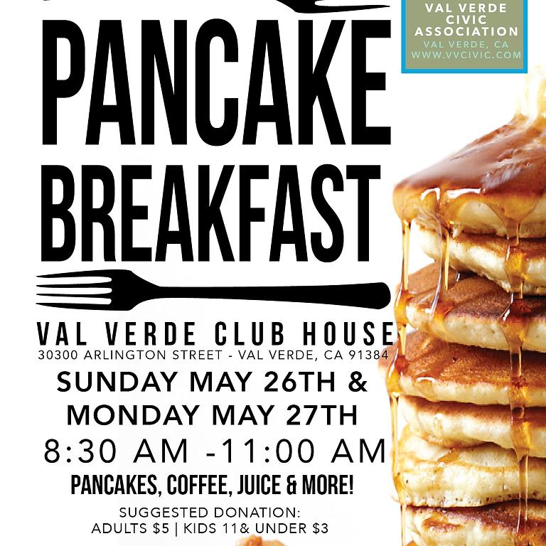 VVCA Memorial Day Pancake Breakfast (Monday, Day 2)