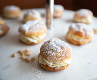 Classic French Cream Puffs