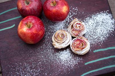 Mini Apple Roses