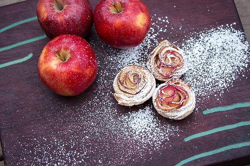 Apple Rose Tartlets, 1 dozen