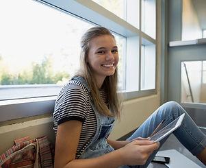 Student on a Break